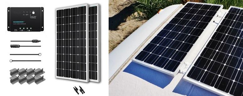 renogy-200w-12v-solar-starter-kit-panels