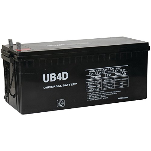 12v 200ah Solar Power Battery – Deep Cycle
