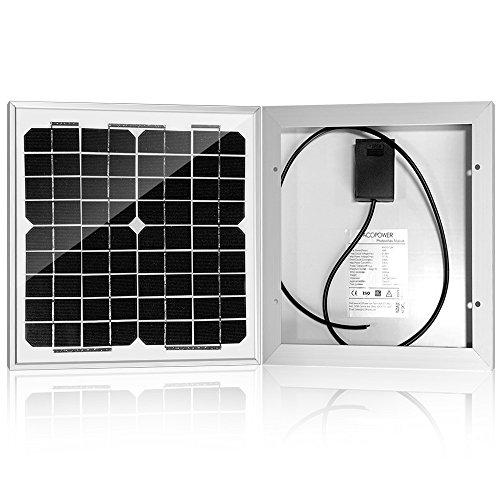 ACOPOWER-10-watt-10W-Monocrystalline-Photovoltaic-Pv-Solar-Panel-Module-for-12v-Battery-Charging-0