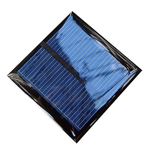 0.6w 5.5v 65*65mm DIY Polycrystalline Silicon Solar Panel