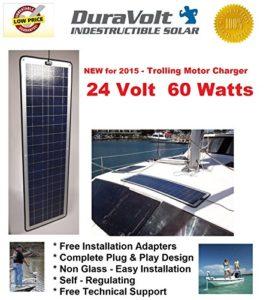 24 Volt Solar Charger 60w For 24 Volt Trolling Motors