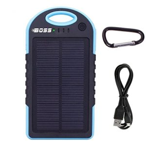 Boss-Solar-Panel-External-Charger-5000mAh-Portable-Power-Bank-Rain-Shock-Dust-Resistant-with-Dual-USB-Chargers-includes-iPhoneAndroid-adapters-and-Bonus-CAR-Charger-0