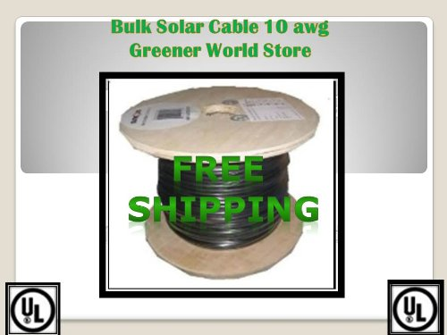 Bulk-Solar-Cable-for-Photovoltaic-Solar-Panels-50-Feet-Bulk-Solar-Cable-10-AWG-600-Volt-0