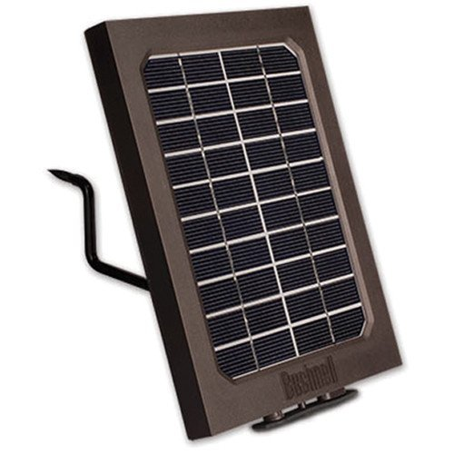 Bushnell 119756C Trail Cam Accessories Trophy Cam Aggressor Solar Panel Clamshell, Brown