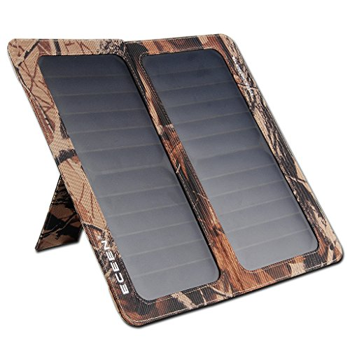 Eceen Solar Charger Foldable Solar Panel Charge For