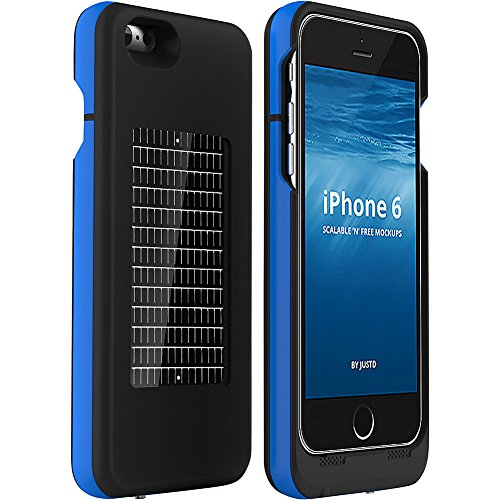 check out 769b5 e0fc4 EnerPlex Surfr AMP Ultra Slim Battery Backup & Solar Powered Case for  iPhone 6/iPhone 6S, Black, SRI6A3000BK