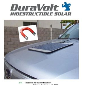 SUPER-MAGNETIC-12-Volt-Solar-Charger-83-Watt-Boat-Rv-Marine-Solar-Panel-Semi-Flexible-Self-Regulating-12V-No-experience-Plug-Play-Design-Dimensions-118-L-x-100-W-x-14-Thick-10-cable-0
