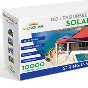 10Kw-Complete-DIY-Solar-Kit-260W-Watt-REC-Solar-Panels-SMA-SunnyBoy-String-Inverter-Roof-Tech-Rail-Less-Racking-0