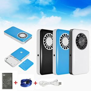 2Pcs-Portable-Handheld-USB-Mini-Air-Conditioner-Cooler-Fan-With-Rechargeable-Battery-Black-0