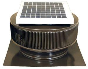 Aura Solar Fan 12 Inch Diameter 2 Inch Collar Energy