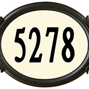 Designers-Choice-DRMNDIY-Do-It-Yourself-Roman-Address-Plaque-Kit-Black-0