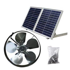 ECO-WORTHY-25W-Solar-Powered-Attic-Ventilator-Gable-Roof-Vent-Fan-with-30W-Foldable-Solar-Panel-0