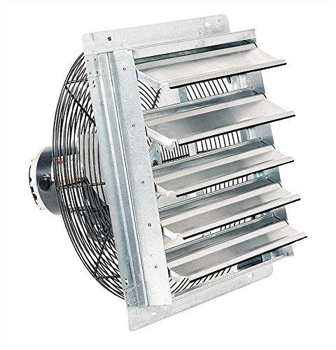 Fantech 2SHE1221 Series 12″ Shutter Mount Exhaust Fan