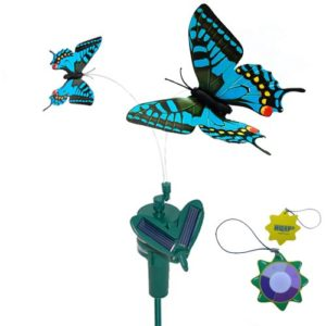 HQRP-Twin-Solar-Butterfly-Flying-Fluttering-Powered-by-Sun-or-AA-Battery-for-Outdoor-decor-HQRP-UV-Chain-0