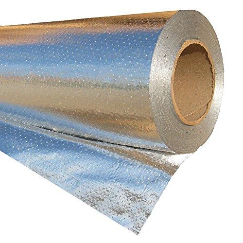RadiantGUARD Ultima-FOIL DIY Radiant Barrier Commercial Grade Breathable Attic Foil Insulation (1000 Square Feet Roll) U-1000-B