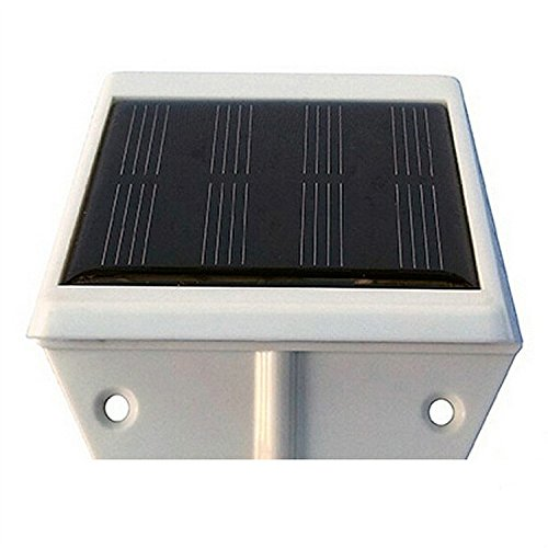 Sinomann Pack Of 2 Solar Powered Fence Gutter Solar Light