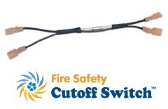 Solar Attic Fan Fire Safety Switch For Natural Light Brand Only