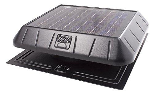 SunRise Solar FB1250FT Standard 20 Watt Attic Fan With Thermostat