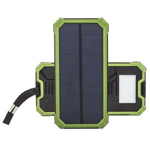 Trekbest-Portable-Solar-Charger-12000mAh-Dual-USB-Solar-Battery-Charger-Power-Bank-Solar-External-Battery-Pack-with-6-LED-Flashlight-for-iPhone-iPad-and-Android-Phones-0