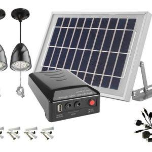 Solar Panels Lamp