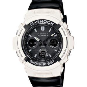 Casio-Mens-AWGM100GW-7A-G-Shock-Atomic-Timekeeping-Analog-Digital-Black-and-White-Watch-0