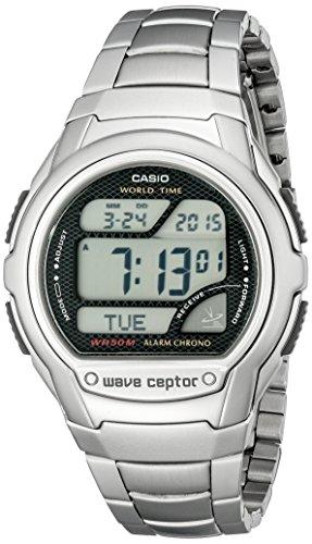 Casio Men's WV58DA-1AV Waveceptor Digital Atomic Sport Watch