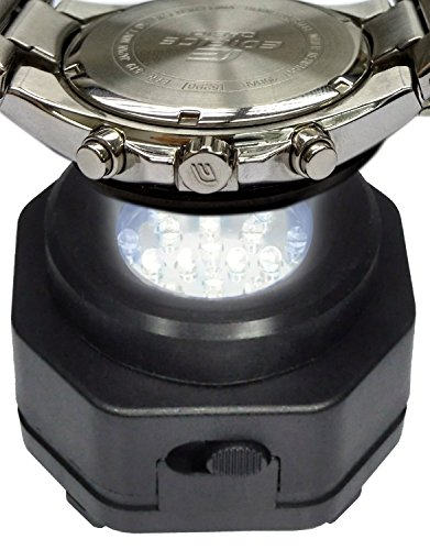 Casio Solar, Citizen Eco Drive, Seiko Solar Watch Charger! CoolFire Professional Solar Watch Charger