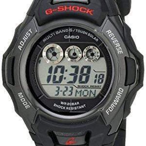 G-Shock-GWM530A-1-Mens-Tough-Solar-Atomic-Black-Resin-Sport-Watch-0