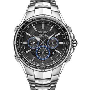 Seiko-Coutura-Radio-Sync-Solar-Chronograph-Stainless-Steel-Mens-Watch-SSG009-0