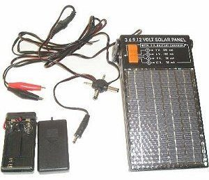 3-6-9-and-12-Volt-Solar-Panel-with-9-Volt-and-AA-Battery-Charger-0