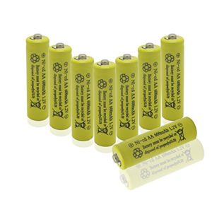 GEILIENERGY-Perfect-Home-Station-8-Piece-Set-AA-NiCd-600mAh-12V-Rechargeable-Battery-0