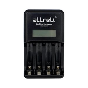 aLLreLi-4-Bay-Intelligent-Fast-Charging-Battery-Charger-w-LCD-Indication-Battery-Activation-Discharge-Function-for-AA-AAA-Ni-MH-Ni-Cd-Rechargeable-Batteries-0