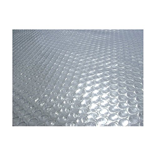 Blue Wave Oval 12-mil Solar Blanket For In Ground Pools, Clear