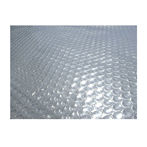 Blue Wave Rectangular 14-mil Clear Solar Blanket For In Ground Pools