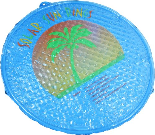 In-ground Solar Sun Ring Swimming Pool Heater (1)