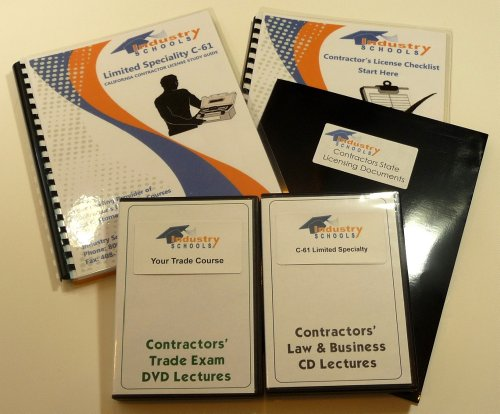 KIT D35 – POOL AND SPA MAINTENANCE For California W/LAW & BUSINESS & Online Practice Exams, Instructors On Both DVDs And CDs
