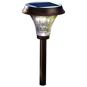 Moonrays-Richmond-Style-Premium-Output-Solar-Powered-Metal-LED-Path-Light-0
