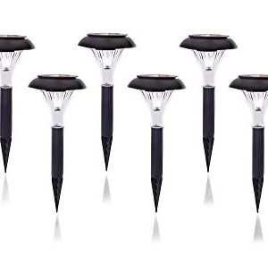 Qualitus-Solar-Powered-LED-Garden-Stake-Lights-Perfect-for-Path-Patio-Deck-Driveway-featuring-2x-lumen-weatherproof-construction-energy-saving-long-lasting-no-wires-easy-install-0