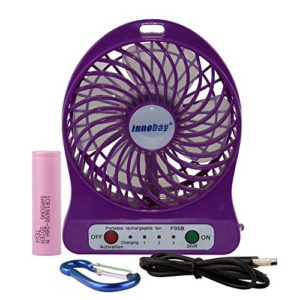 innobay-4-inch-Portable-Personal-Fan-Rechargeable-Battery-Operated-7-Colors-in-Option-0