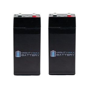 4-Volt-45-Ah-Battery-for-Zareba-2-Mile-Fence-Solar-Charger-2-Pack-Mighty-Max-Battery-brand-product-0
