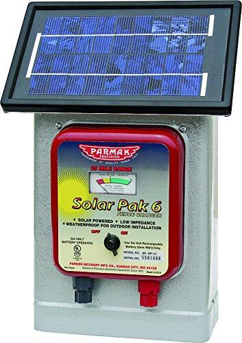 Parmak Precision DF-SP-LI 6 Volt Solar Pak Fencer
