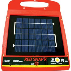 Red-Snapr-ESP10M-RS-10-Mile-Solar-Low-Impedance-Fence-Charger-0