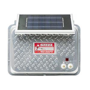 Red-Snapr-ESP6V-RSS-Steel-6V-Solar-Fence-Charger-0