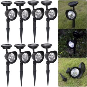 8-Pack-Outdoor-Garden-3-LED-Solar-Spot-Flood-Landscape-Path-Lights-Lighting-new-free-shipping-0