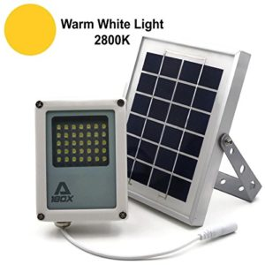 ALPHA-180X-Solar-Flood-Light-Warm-White-LED-as-Security-Floodlight-and-Area-Lighting-for-Farm-Area-Yard-Home-Garden-Remote-Cabin-Alley-Warm-White-Light-0