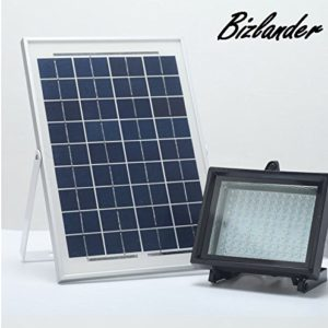 BIZLANDER-2017-NEW-Commercial-Grade-Solar-Flood-Light-108-LED-Security-Light-AUTO-ONOFF-DUSK-TO-DAWN-for-Sign-Garden-Farm-Shed-Boat-Camping-Garage-0