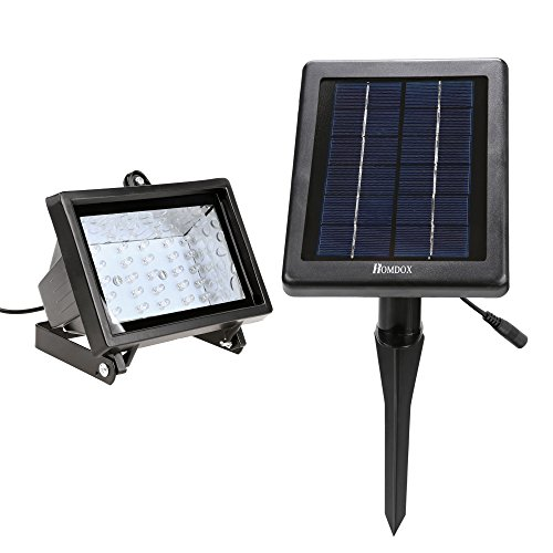 Homdox Solar Flood Lights Outdoor Waterproof Christmas