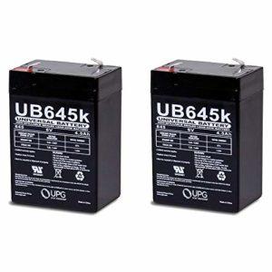 6-Volt-4AH-Rechargeable-Sealed-Lead-Acid-SLA-Battery-6-volt-4amp-2-Pack-0