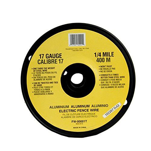 Fi-Shock FW-00001T   17 Gauge Spool Aluminum Wire