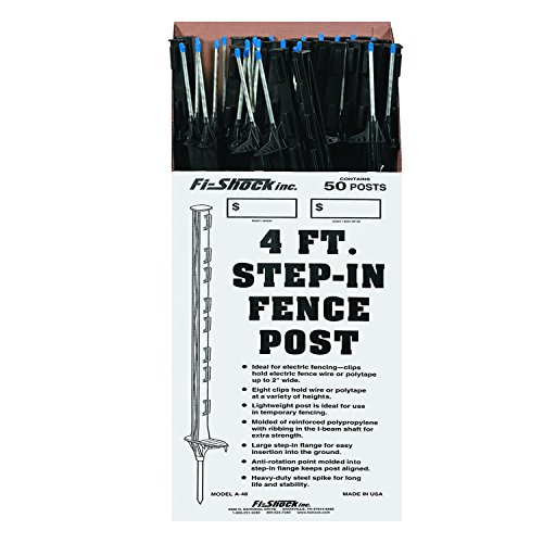 Perky-Pet Fi-Shock White Step-In Fence Posts